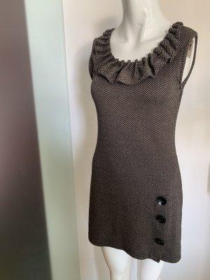 Kleid in Strick Optik Gr 34 36 S von Apricot