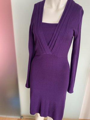 Kleid in Strick Optik Gr 34 36 XS