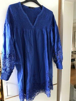 yfl RESERVED Empire Dress blue