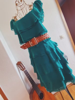 Kleid in türkis