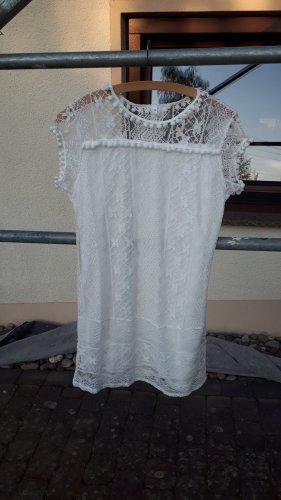 Kleid in weiß(Strandkleid)