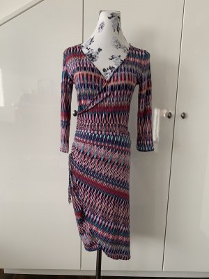 Kleid in Wickelobitik