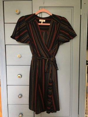 Monteau Vestido cruzado multicolor