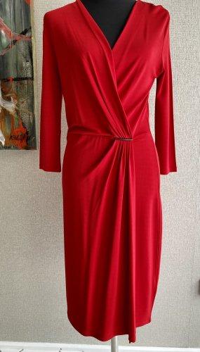 Kleid in Wickeloptik von René Lezard