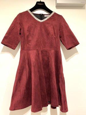 Kleid in Wil*leder Optik, Gr. 38-40