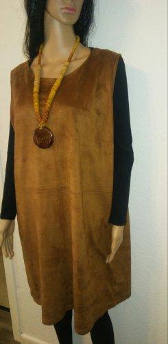 My Own Vestido de cuero multicolor tejido mezclado