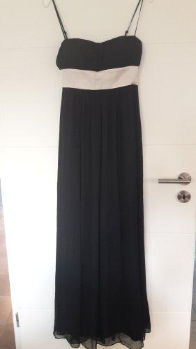 Alain Manoukian Suknia wieczorowa biały-czarny