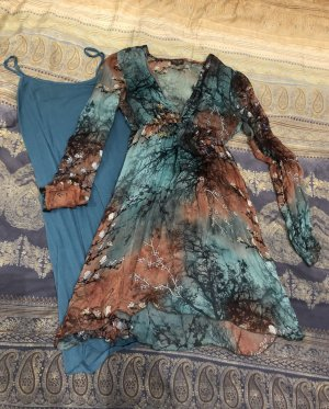 Kleid inkl. Unterkleid, fines Design