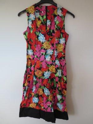 Kleid Italy floral bunt Dirndl Stretch Größe S