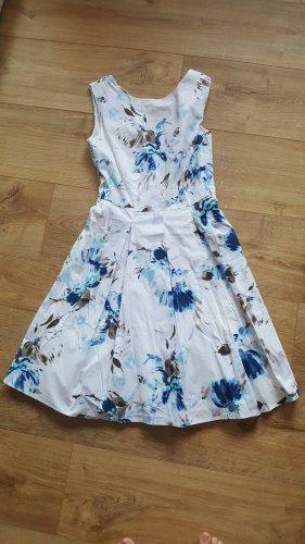 C&A Summer Dress white-blue