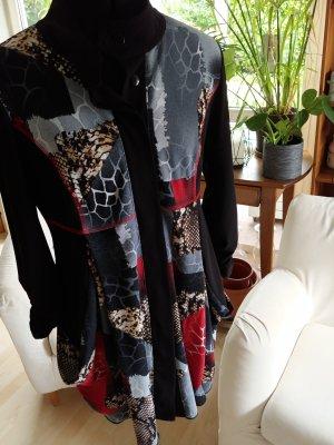 Joseph Ribkoff Peplum Dress multicolored