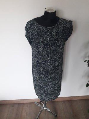 Just Female Vestido estilo camisa malva-verde grisáceo