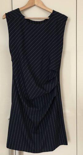 Kaffe Vestido de manga corta azul oscuro