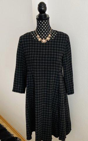 Marc O'Polo Vestito di lana nero-antracite Tessuto misto