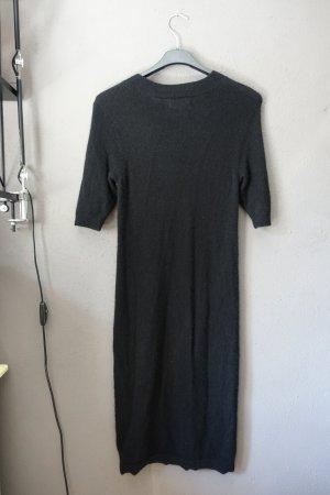 Zalando Knitted Dress black cashmere