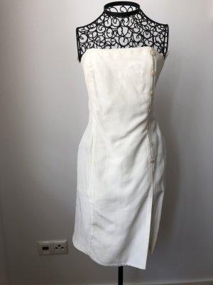 Kenzo Sukienka gorsetowa w kolorze białej wełny Wiskoza