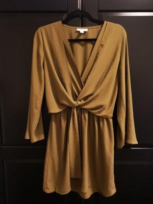 Topshop Robe courte gris vert-vert olive