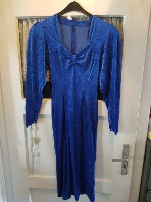 Empire Dress steel blue