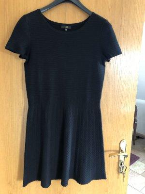 1.2.3 Paris Vestido de manga corta negro
