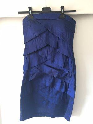 Kleid kurz blau