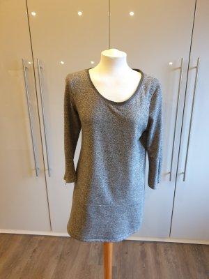 Kleid kurz grau