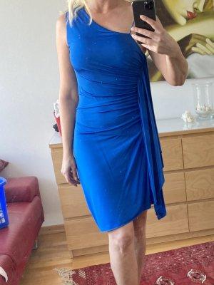 La perla One Shoulder Dress blue
