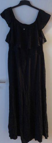 Blue Motion Sukienka maxi czarny