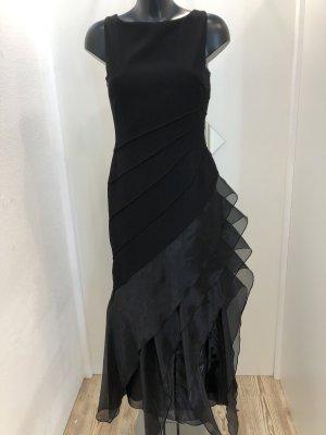 Kleid - lang, schwarz & figurschmeichelnd