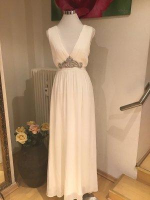Kleid,lang weiss