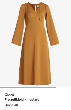 Closet Maxi abito arancione chiaro