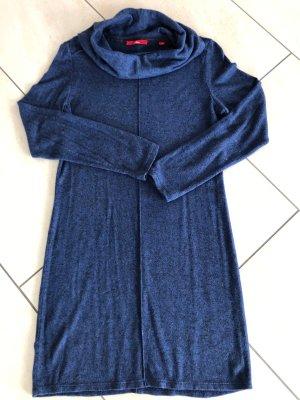 s. Oliver (QS designed) Sukienka ze stretchu chabrowy-czarny