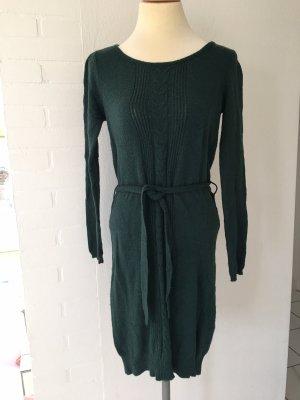 Kleid Langarm Vero moda Gr. S dunkelgrün