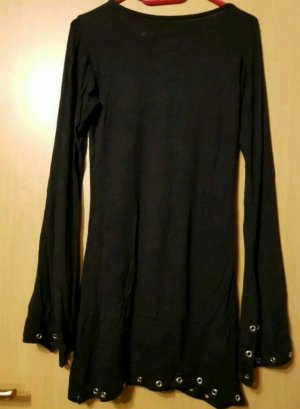 Kleid Langarm von Gothicana Gr.S schwarz