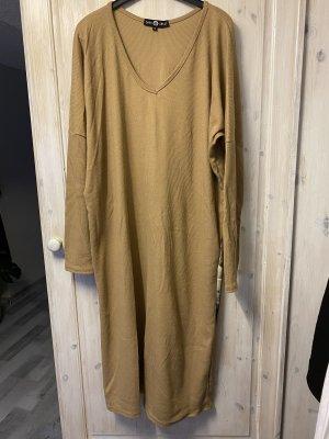 Kleid, Langes Oberteil, gerippt