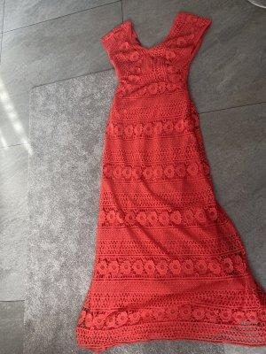 Kleid Laurel by Escada NEU  Gr.36/S Lachs lang spitze