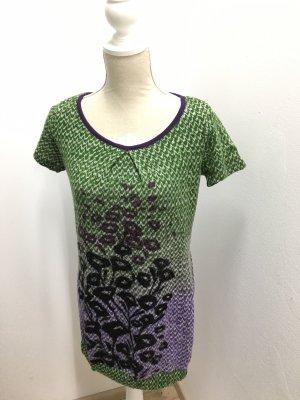 Lavand Vestito di lana verde prato-lilla