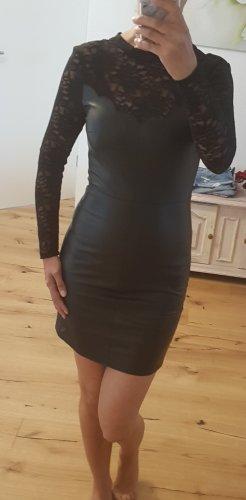 Kleid Leder Optik Gr. 34