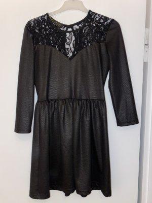 BSB Collection Jurk met lange mouwen zwart
