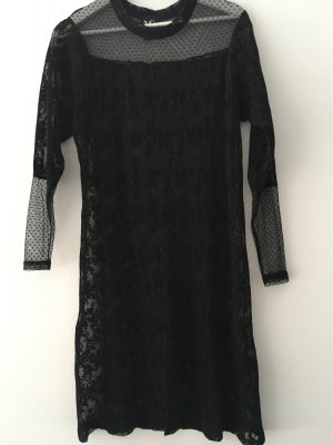 Kleid leicht transparent knielang