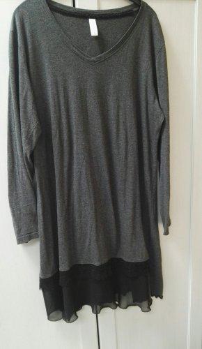 Sweatjurk zwart-grijs