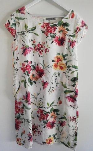 Kleid ~ Leinen ~ Blumenprint Gr. 36 38 40 42