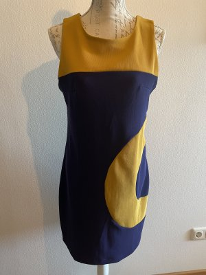 Kleid lila/gelb