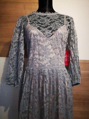 Kleid Little Mistress Abschluss Hochzeit Partykleid Spitzenkleid rosa türkis