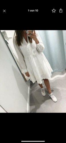 YAS Longsleeve Dress white-natural white