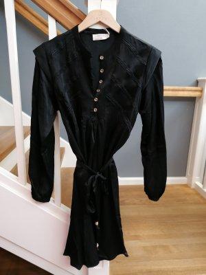 Kleid Longbluse Longtunika edel schwarz von Cream