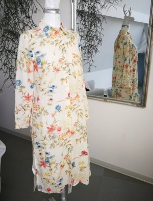 Kleid-Longbluse-Mantel