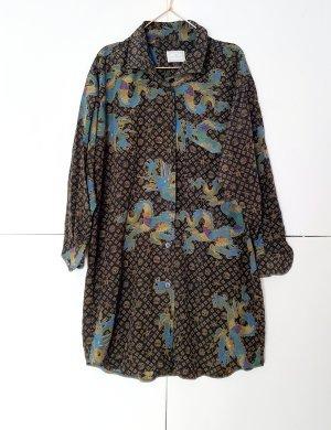 Etienne Aigner Long Blouse multicolored silk