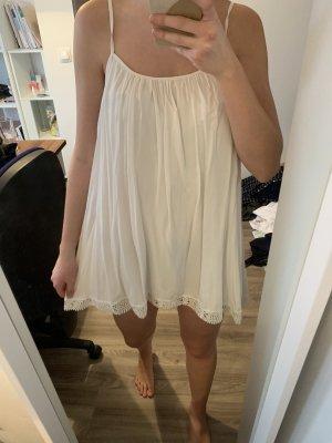 Lookbookstore Sukienka typu babydoll biały