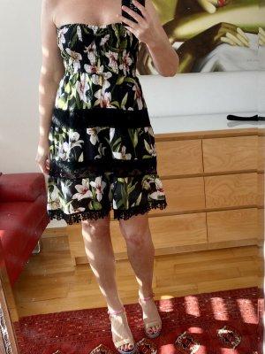 Luisa Positano Robe bustier multicolore