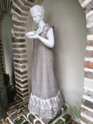 Cream Vestido de Verano crema-malva